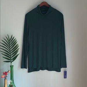 Long sleeve Turtleneck Huntergreen
